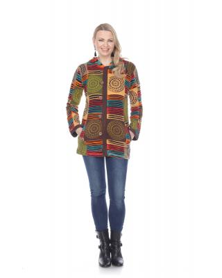 Cotton Multi Patch Jacket